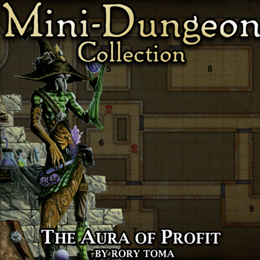 5E Mini-Dungeon #023: The Aura of Profit