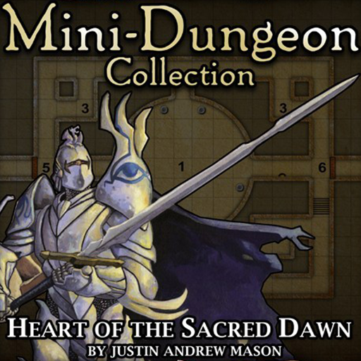 5E Mini-Dungeon #029: Heart of the Sacred Dawn