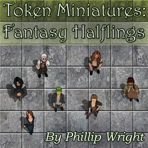 Token Miniatures - Fantasy Halflings