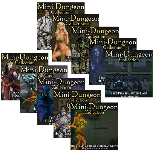 5E Mini-Dungeons Mega Bundle #021-#030