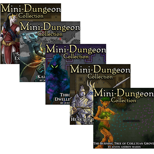 5E Mini-Dungeons Bundle #026-#030