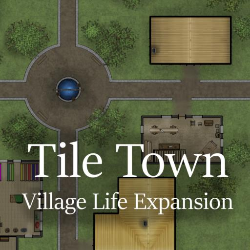 Tile Town Village Life Expansion