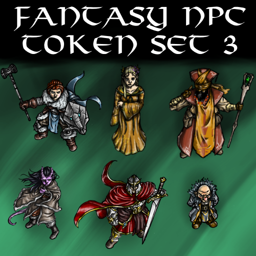 Fantasy NPC Token Set 3
