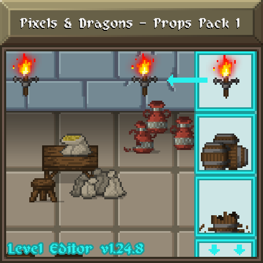 Pixels and Dragons - Props Pack 1
