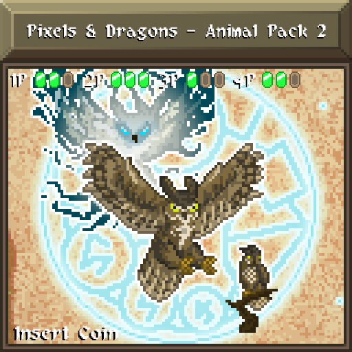 Pixels and Dragons - Animal Pack 2