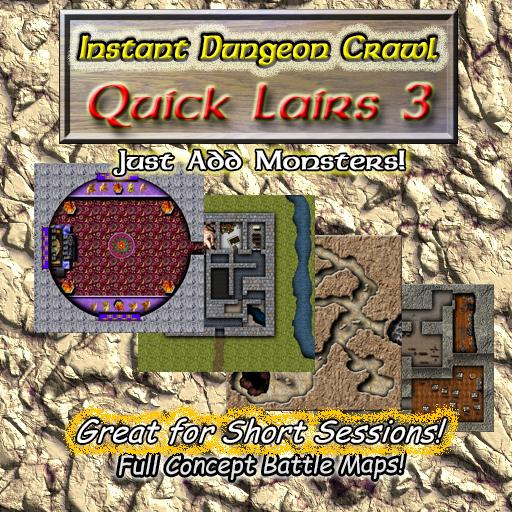 Instant Dungeon Crawl: Quick Lairs 3