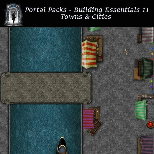 Portal Packs - Building Essentials 11 - Towns & Cities