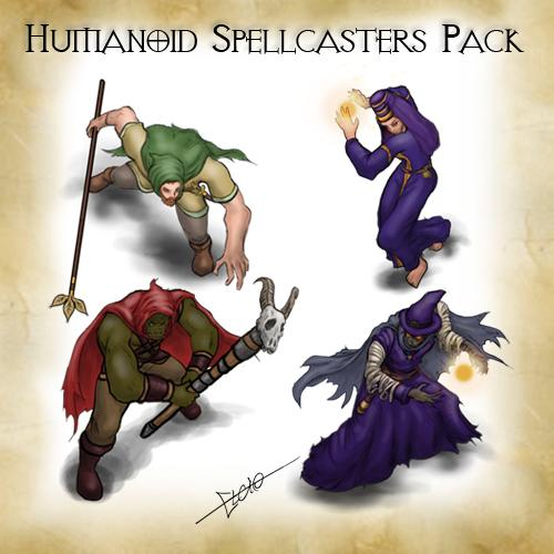 Humanoid Spellcasters Pack