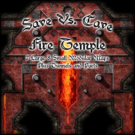 Save Vs. Cave Fire Temple