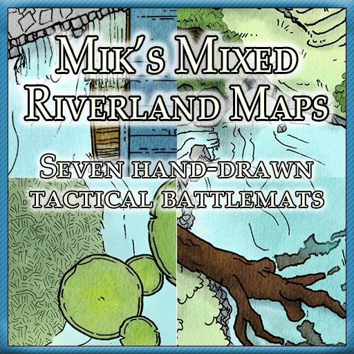 Mik's Mixed Riverland Maps