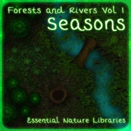 Essential Nature Libraries Forests and Rivers: Seasons