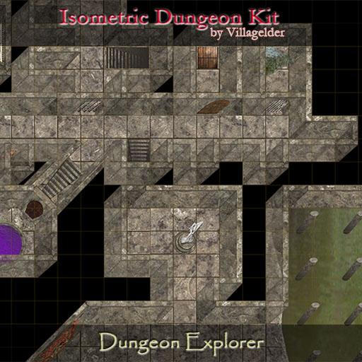 Isometric Dungeon Kit - Dungeon Explorer