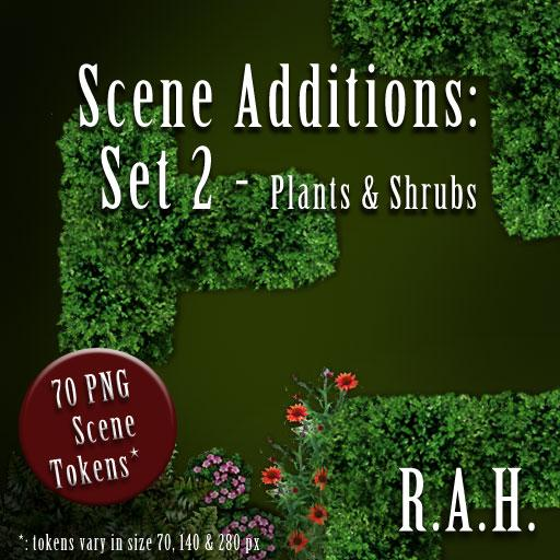 Scene Additions 2: Plants and Shrubs