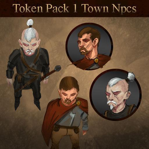 Token Set # 1- Town Npcs