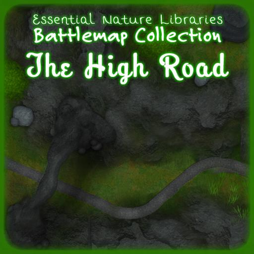 Essential Nature Libraries Battlemaps: The High Road