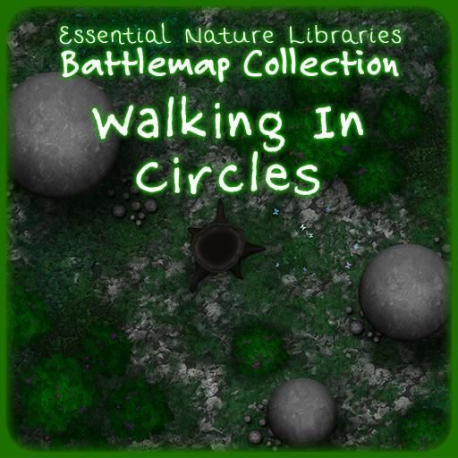Essential Nature Libraries Battlemaps: Walking in Circles