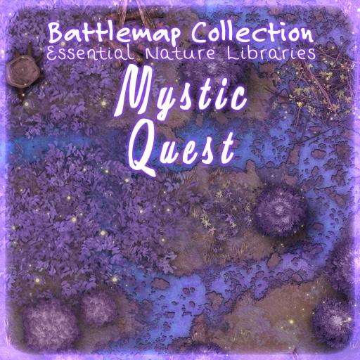 Essential Nature Libraries Battlemaps: Mystic Quest
