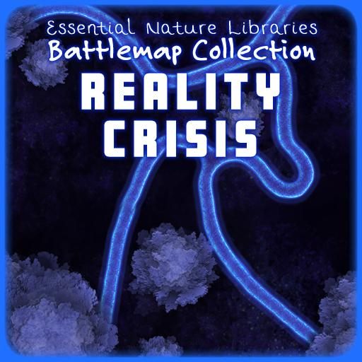 Essential Nature Libraries Battlemaps: Reality Crisis