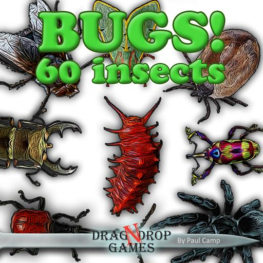 BUGS! 60 Insects