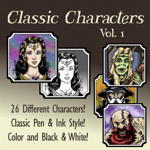 Classic Characters Vol. 1