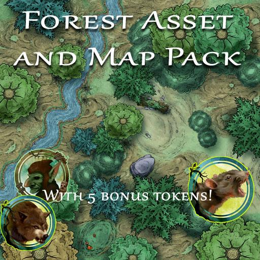 Forest Asset and Map Pack