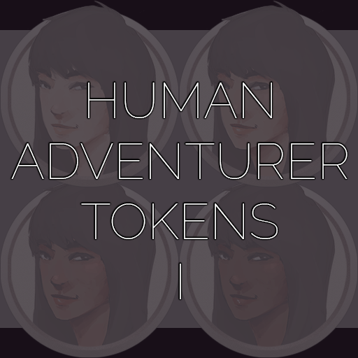 Human Adventurer Tokens I