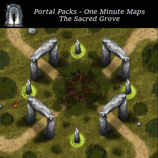 Portal Packs - One Minute Maps - The Sacred Grove