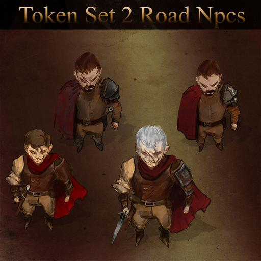 Token Set #2 - Road NPCs