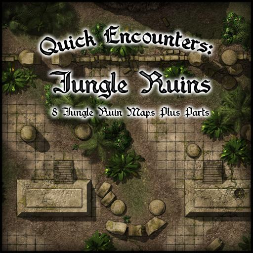 Quick Encounters: Jungle Ruins