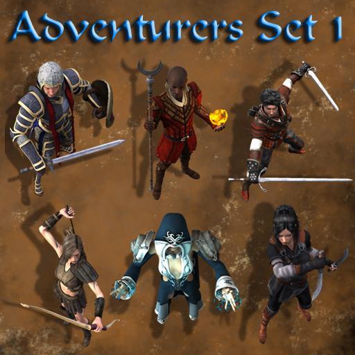 Adventurers Set 1