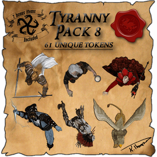 Ddraig Goch's Tyranny Pack 8