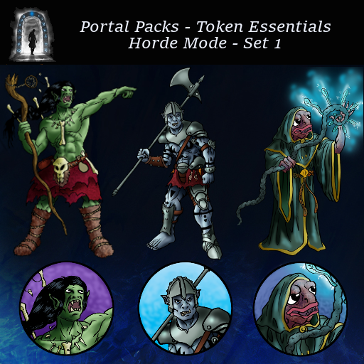 Portal Packs - Token Essentials - Horde Mode - Set 1