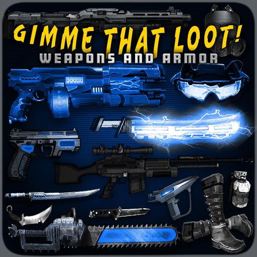 Gimme That Loot! Weapons and Armor