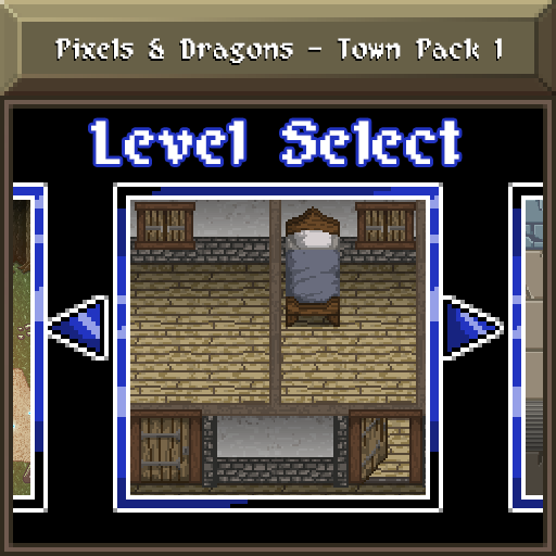 Pixels and Dragons - Town Pack 1