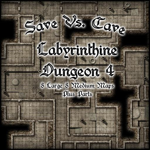 Save Vs. Cave Labyrinthine Dungeon 4