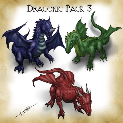 Draconic Pack 3