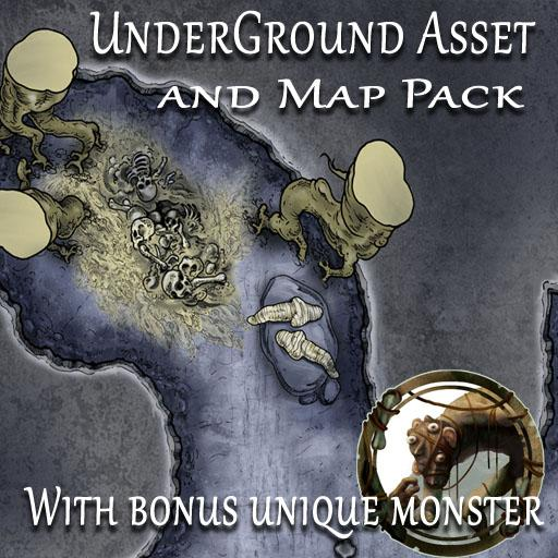 Underground Asset and Map Pack
