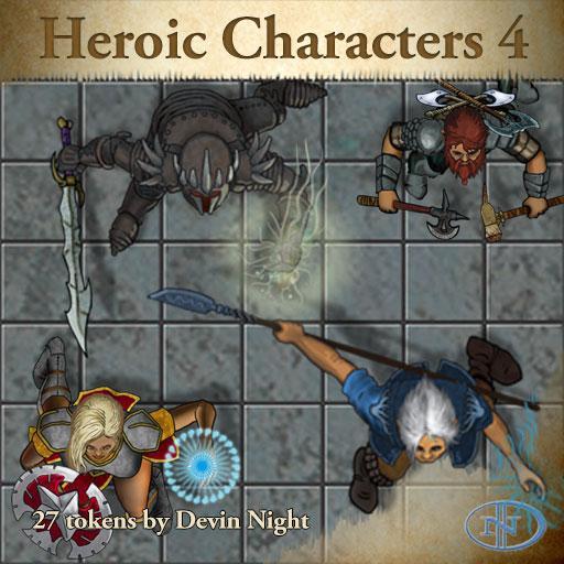 48 - Heroic Characters 4