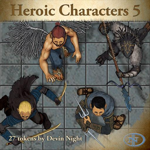 49 - Heroic Charcters 5