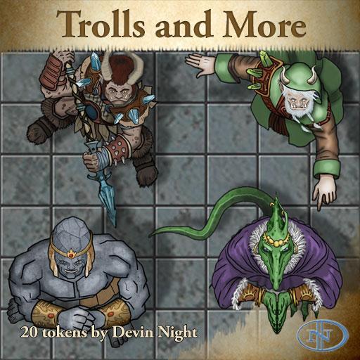 50 - Troll, Lizard, Rockmen Characters