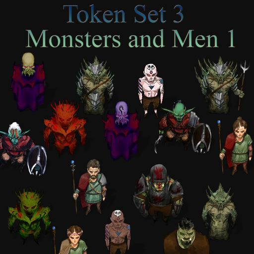 Token Set # 3 - Monsters and Men 1