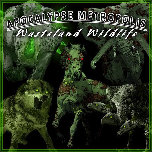 Apocalypse Metropolis: Wasteland Wildlife