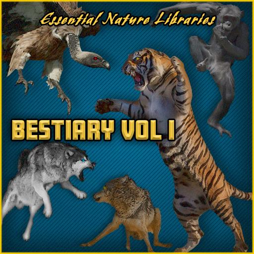 Essential Nature Libraries: Bestiary Vol I