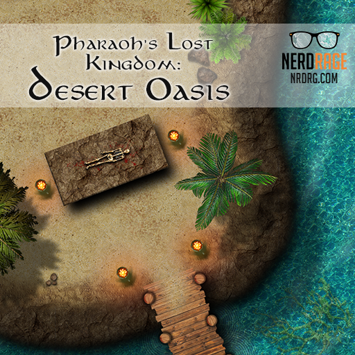 Pharaoh's Lost Kingdom: Desert Oasis