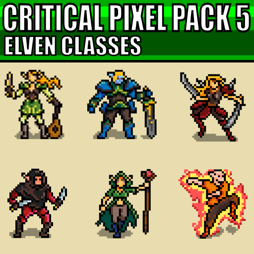 Critical Pixel Pack 5