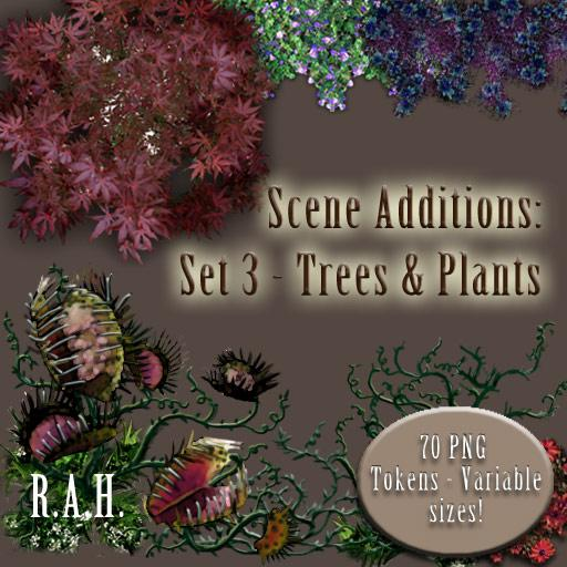 Scene Additions: Set 3 - Trees and Plants