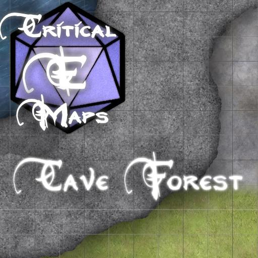 Critical E Maps: Cave Forest