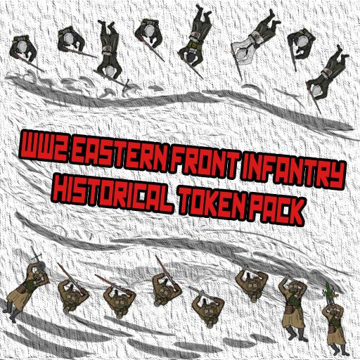 WW2 Eastern Front Infantry Historical Token Pack
