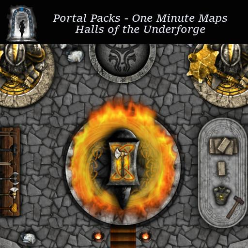 Portal Packs - One Minute Maps - Halls of the Underforge