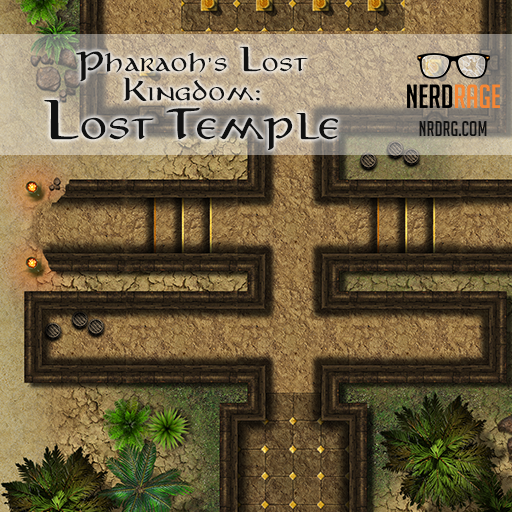 Pharaoh's Lost Kingdom: Lost Temple
